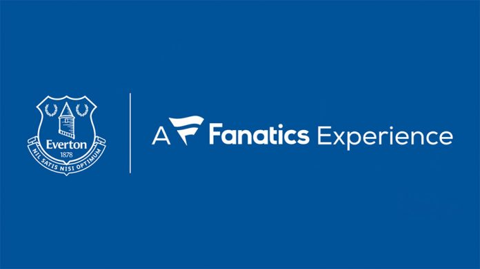 Everton And Fanatics Announce Expanded Retail Partnership The Blue Room
